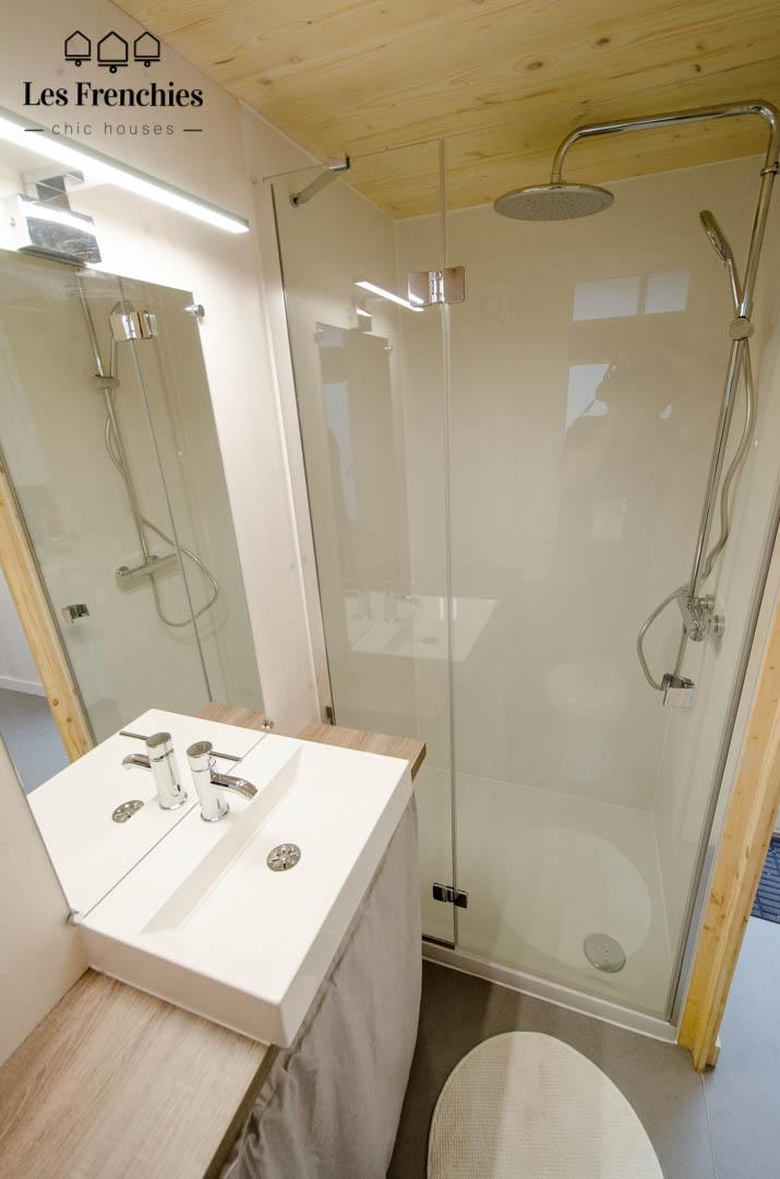 Salle d'eau Tiny House OPALE - Les Frenchies