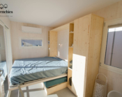 Salon - Chambre Tiny House OPALE - Les Frenchies