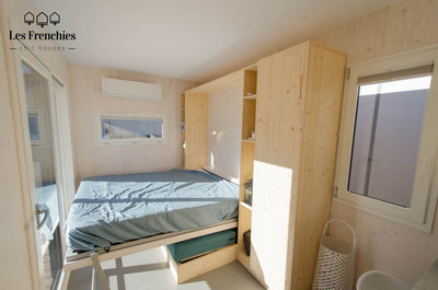 Tiny House Les Frenchies chambre