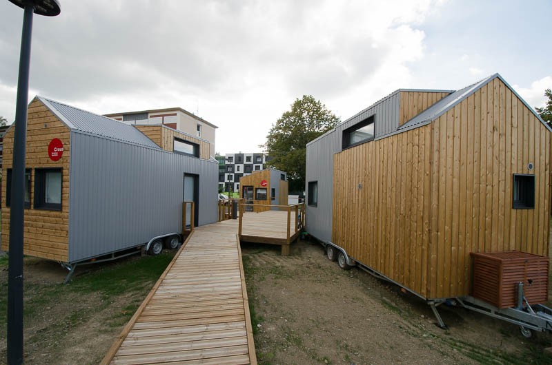 Village de tiny houses CROUS Pau